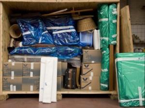 Container garde-meubles