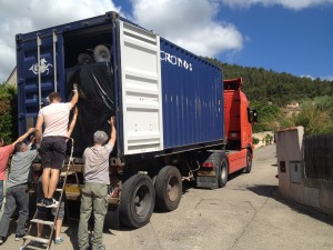 Chargement container TC 20