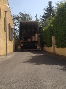 Chargement camion poids lourd 19 Tonnes 45 m3