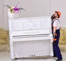 Visuel de l'article Déménager un piano, une affaire de professionnels